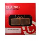 Klocki hamulcowe CLARK'S VRX810 Organiczne Shimano Deore hydrauliczne, BR-M555/6