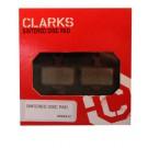 Klocki hamulcowe CLARK'S VRX841 PRO Metaliczne Avid Elixir CR, Elixir R