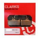 Klocki hamulcowe CLARK'S VX801 Organiczne Shimano Deore XT, Cleg DH, Grimeca 8/16, Sram/Hope Mono 4/5