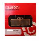 Klocki hamulcowe CLARK'S VX810 Organiczne Shimano Deore hydrauliczne, BR-M555/6