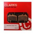 Klocki hamulcowe CLARK'S VX813 Organiczne Avid Juicy 3,5,7 hydrauliczne, mechaniczne BB7 Juicy
